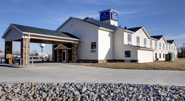 Cobblestone Hotel And Suites In Newton Illinois Accomodations Lodging