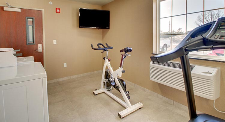 Fitness Center and Guest Laundry