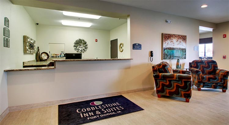 Cobblestone Inn And Suites In Fort Dodge Iowa Hotel Accomodations Lodging