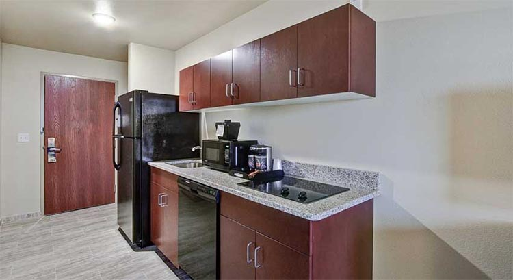 Extended Stay Suite Kitchen