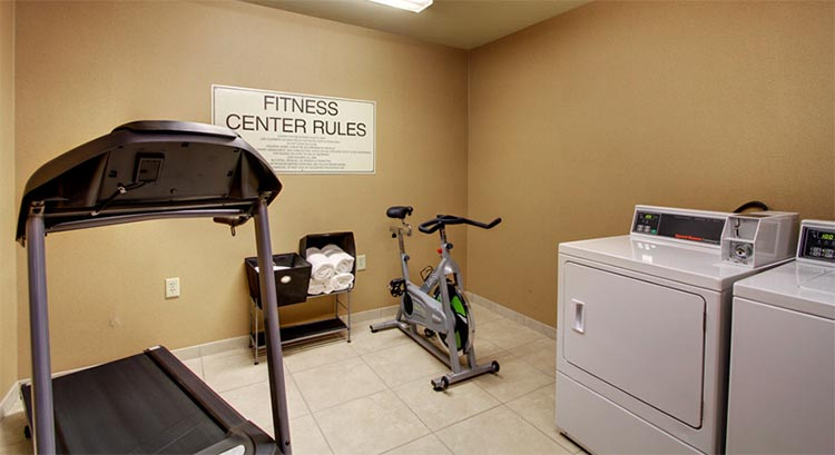 Guest Fitness and Laundry Center