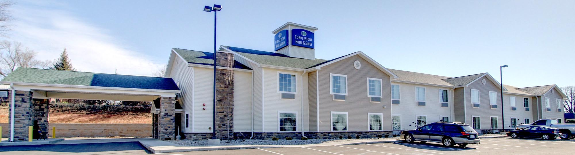 Cobblestone Hotel and Suites in Salem, Indiana - Hotel