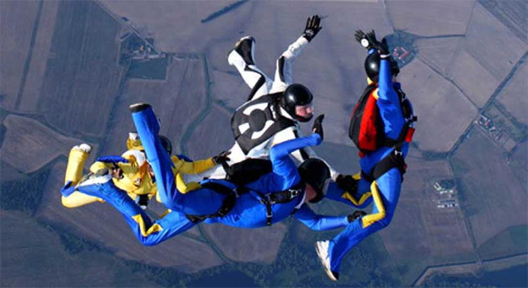 Go Skydiving Nearby!