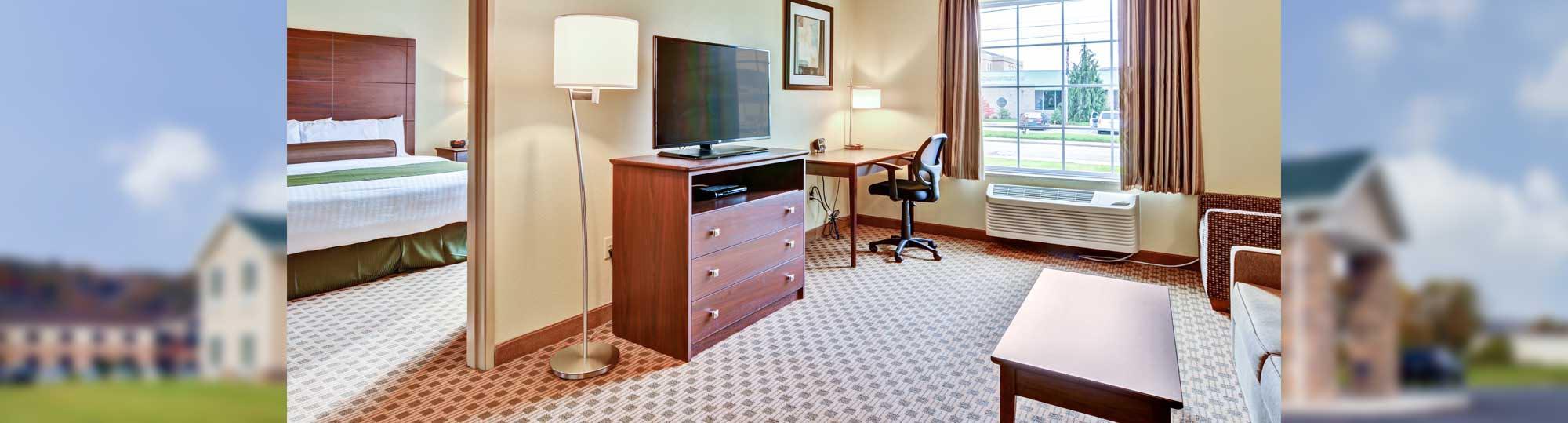 Cobblestone Inn and Suites Ambridge