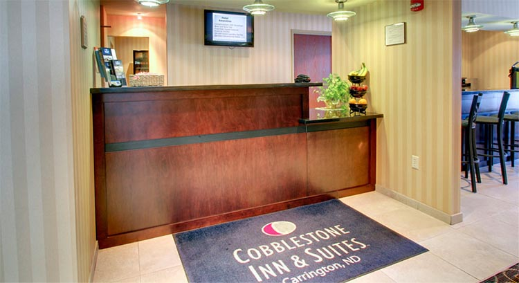 Cobblestone Inn And Suites In Carrington North Dakota Hotel Accomodations Lodging