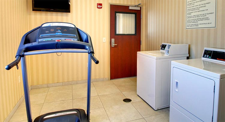 Guest Laundry and Fitness Center