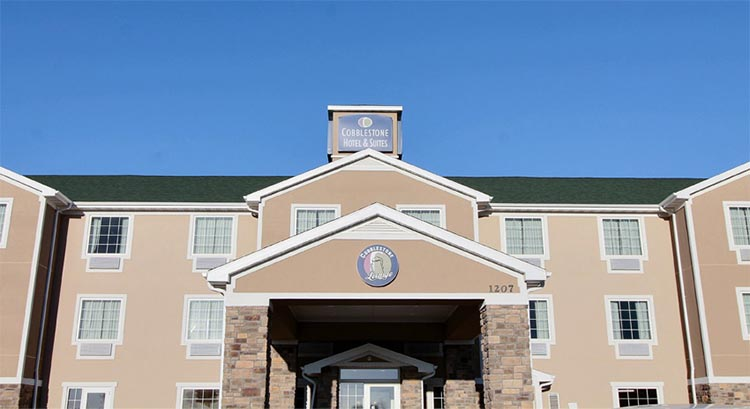 Cobblestone Hotel And Suites In Beulah North Dakota Accomodations Lodging