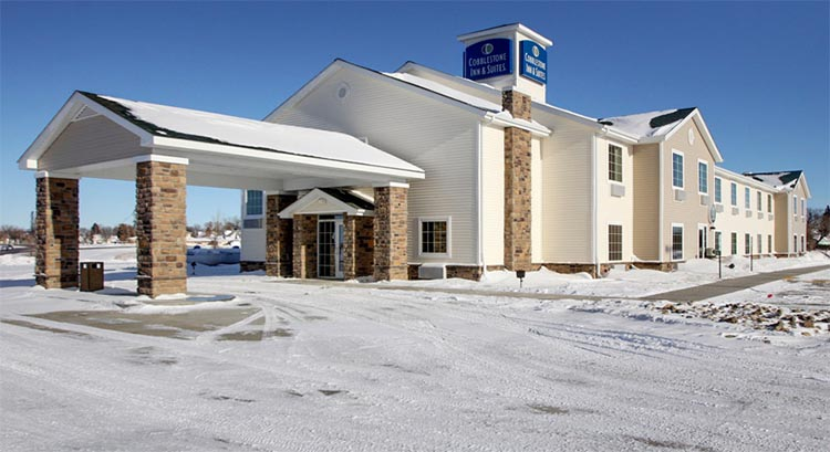 Cobblestone Inn And Suites In Harvey North Dakota Hotel Accomodations Lodging