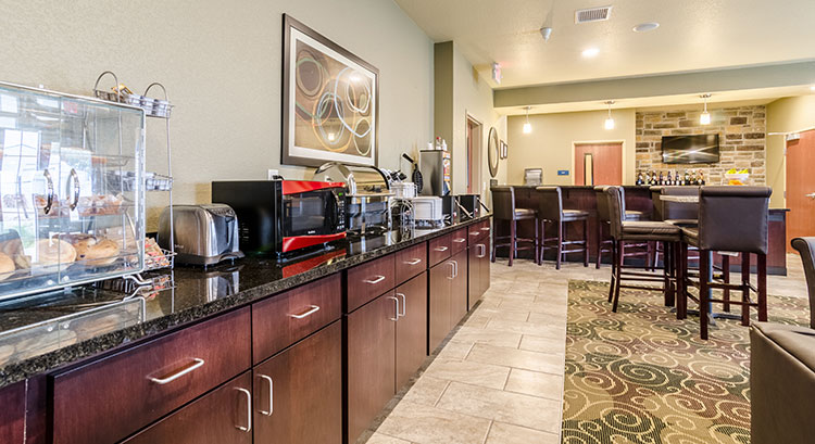 Hot Breakfast Area